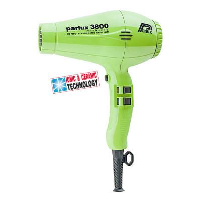 Фен для волосся Parlux 3800 Green Ceramic&Ionic